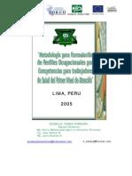 Metodologia Para Formulacion Perfiles Ocupacionales, Ejemplo