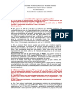 GABARITO - Prova Intermediária I - 8S - Processo Penal v - 01-04-2014