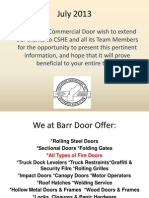 Fire Doors Presentation