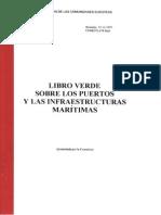 Libro Verde Sobre Los Puertos y Las Infraestructuras Maritimas