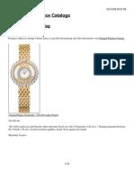 Chopard Watch Catalog 2008