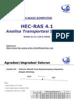 APKOM-11 HEC-RAS (Sediment Transport)