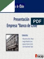 Presentación Empresa Banco de Chile