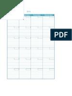 Calendario de Atividades