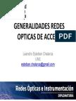 1. Generalidades Redes Opticas de Acceso