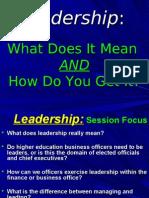 Leadership Gates Ihrkey10 17 2005