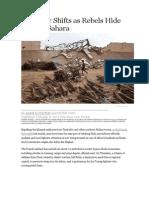 Mali War Shifts as Rebels Hide in High Sahara