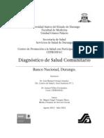 Diagnóstico de Salud Banco Nacional 2011-2012
