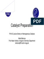 Catalysts Preparation-(PPT)Malte Behrens Catalyst Preparation 101029