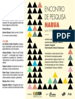 Cartaz Narua(Encontro Junho)