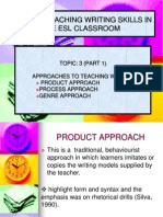 Tsl3107-3-Part 1-Approaches to Teaching Writing