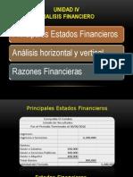 Análisis Financiero(Vertical-horizontal) 2014