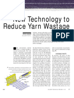 New Technology to Reduce Yarn Wastage