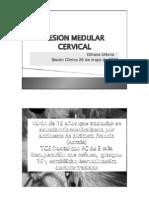 Lesiones Medulares Cervicales OUrbina