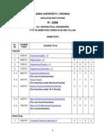 Syllabus Aero Regulation 2008