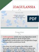 Anti Koagulansia Pembanding