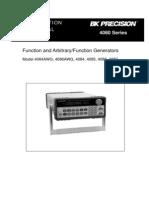 Bk Precision Function Genarator