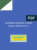 ArchiplyAnnual Report 2011