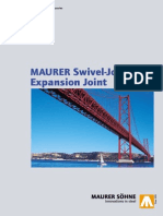 MAURER Swivel Joist Expansion Joints