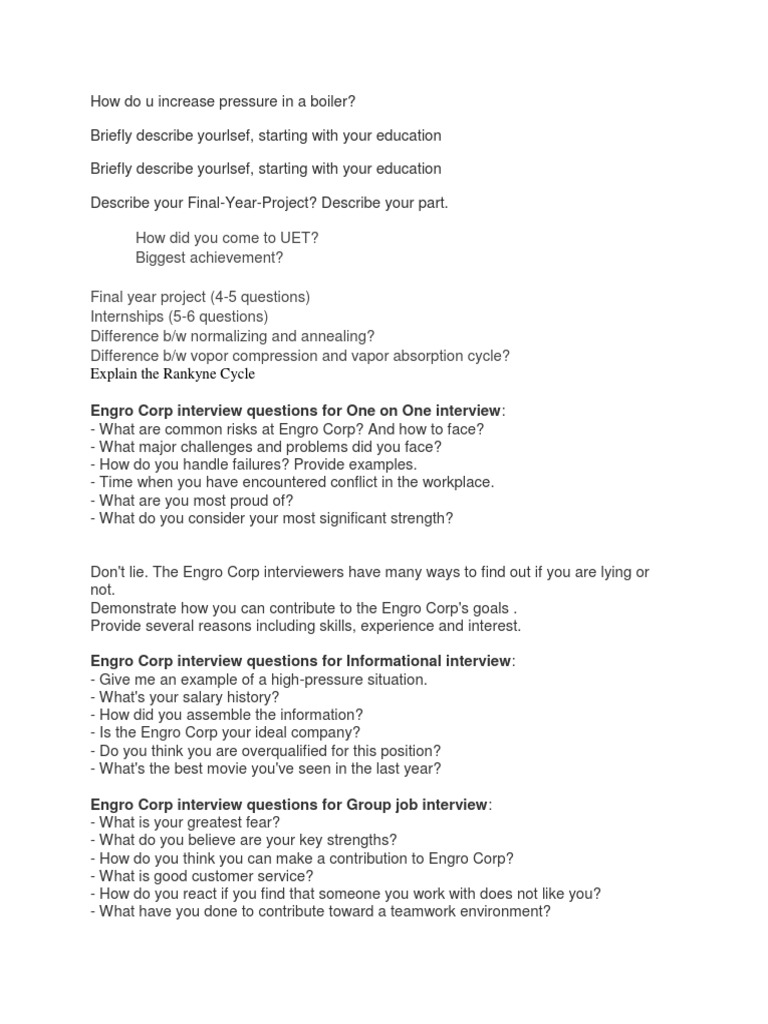 Engro Corp Interview Questions   Job Interview   Epistemology  Customer Service Interview Questions