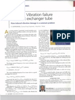 Vibration Failure of HE Tube