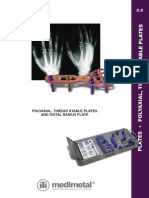 22Mm Polyaxial Plates Catalogue