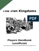 16856702 Unoffical Iron Kingdoms Players Handbook