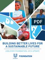 Slp Unilever Foundation 2013 Update Sep2013 Tcm13 371822