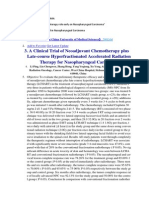 Clinical Trial Chemoterapy NPC