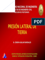 Presion Lateral de Tierra