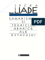 Samanismul Si Tehnicile Arhaice Ale Extazului