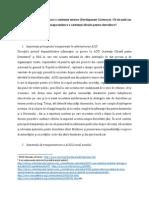 Articol Transparenta Noua platformă de gestionare a asistenței externe (Development Gateways). Cît de mult am avansat în eforturile de transparentizare a asistenței oficiale pentru dezvoltare? de Valentin Lozovanu