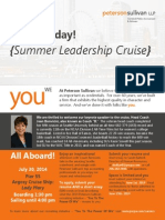 PS Leadership Cruise Flyer