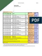14SQ Final Schedule