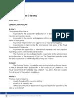 Custom & Excise 20534-Cambodia