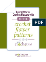 5 Crochet Flower Patterns