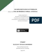 Wideband Balun PhD