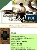 Spiritual Check Up
