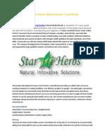 Curcumin Extract Manufacturers | starhiherbs