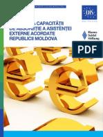 Evaluarea Capacitatii de Absorbtie a Asistentei Externe Acordate Republicii Moldova