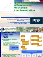 The Philippine DNA for theClean Development Mechanism (CDM) Implementation
