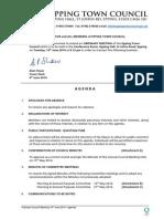 Council Agenda 10th June 2014