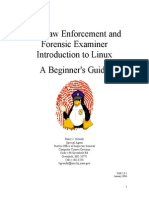 Linux Forensics Guide