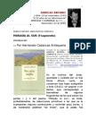 AURELIO ARTURO. Por Hernando Cabarcas Antequera. Morada al Sur. Introducción.