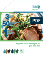 Standard Chartered Treats & Temptatin Guide - Regular