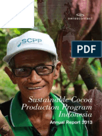 Cocoa Program Implementation_Annual Report #SC 2013