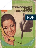 Sfințescu Margareta - Stenografie Fără Profesor