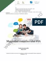 Manual de Furnizare Al Serviciilor de Orientare Si Consiliere Profesionala in Sistemul National de Invatamant - Via