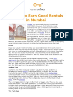 Where to Earn Good Rentals in Mumbai