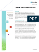127747224 LTE Home Subscriber Server HSS